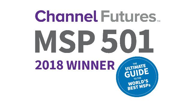 Channel futures MSP 501 2018 winner logo