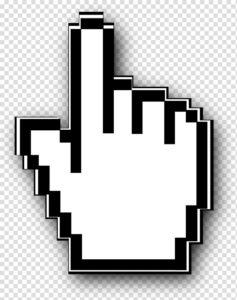 Active mouse cursor