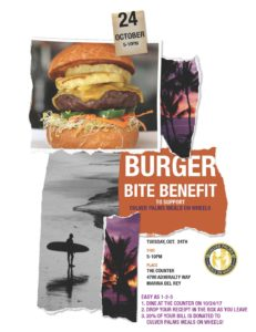 Join us for our annual fundraiser Burger Bite Benefit