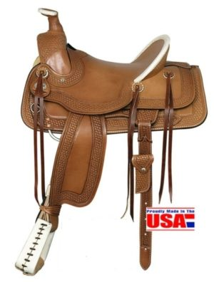 A Fork and Ranch Saddles