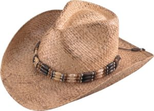 No. 3201-43Henschel Walker Burnished Raffia Straw Hat
