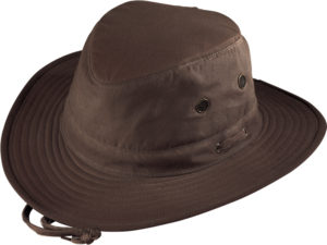 No. 4450-8110 Pt. Explorer Oilcloth Hat, Brown