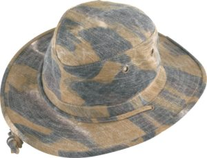 No. 4455-5510 Point Camo Hat
