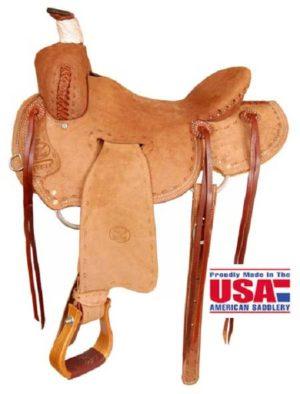 """Big Horn A00852Ranch Roper Saddle, 16"""""""