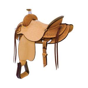 No 291812Sheridan Ranch Roper Saddle, by Billy Cook