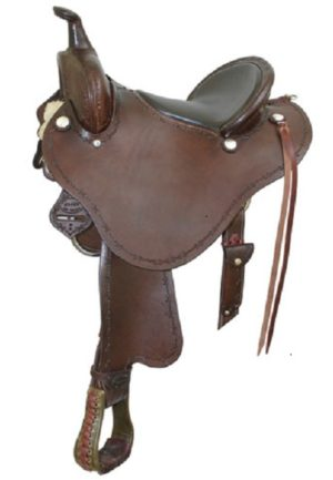 """No. 291477Stealth Trail Saddle By Billy Cook 15"""". 16"""" Seat"""