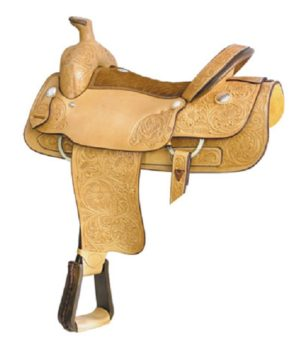 """No 291765Big Boss Roper Saddle by Billy Cook 17"""", 18"""" Seat"""