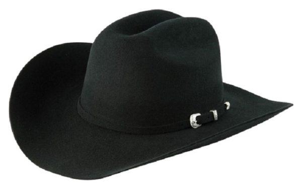 Coronado Black 4X 100% Wool Felt Hat by Cardenas Hats
