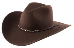 Sonora Cocoa 4X 100% Wool Felt Hat by Cardenas Hats