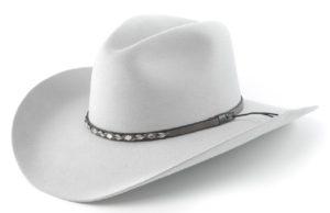 Sonora Light Grey 4X 100% Wool Felt Hat by Cardenas Hats