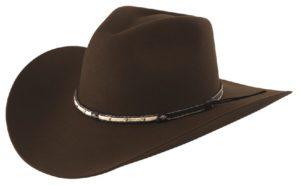 Santa Cruz Cocoa 4X Wool Hat by Cardenas Hats