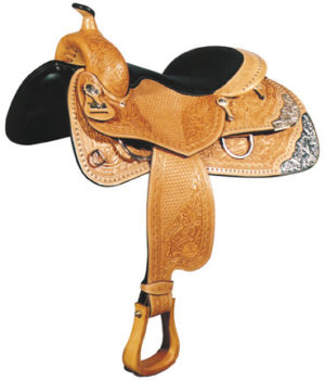 Big HornA00839-16Sil-Cush The Performance Reiner Saddle