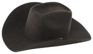 Monterrey Chocolate 3X 100% Wool Felt Hat by Cardnas Hats