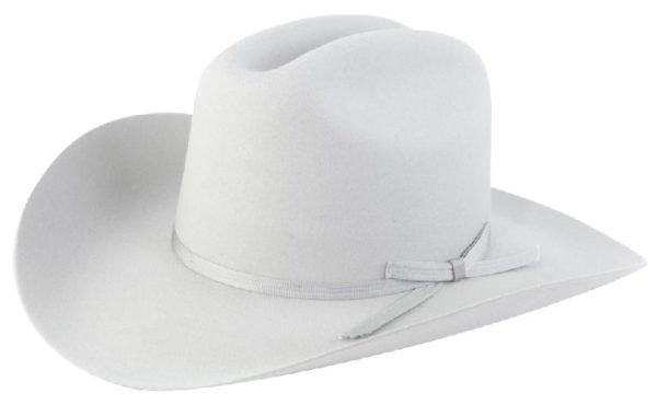 Ranchero Light Grey 3X 100% Wool Felt Hat by Cardnas Hats