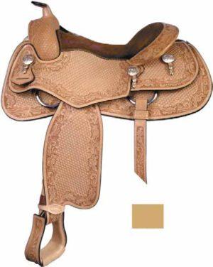 """No. 291376Todd Bergen Reiner Saddle, 15"""", 15 1/2"""" & 16"""""""