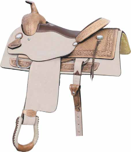 """No. 291187TEXAS T PENNER SADDLE, by Billy Cook 16"""" Seat"""