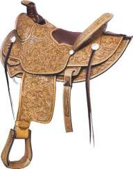 No. 291805HIGH DESERT SADDLE, 15 1/2 inch Seat