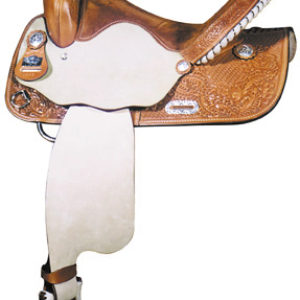Big Horn A01573-15BARREL RACERS SADDLE Full QH Bars
