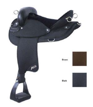 """No 20510Abetta Endurance Nylon Saddle, 15, 16, 17"""" Seat"""