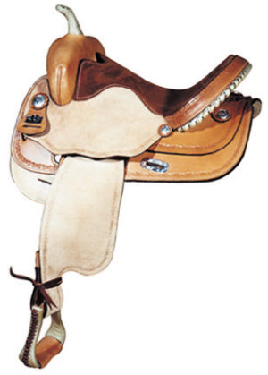 Big Horn A01580-15 BARREL RACERS W/Forward Swing