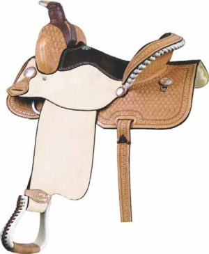 No. 291522CARLOS COMBO SADDLE, 14 or 15 Inch Seat.