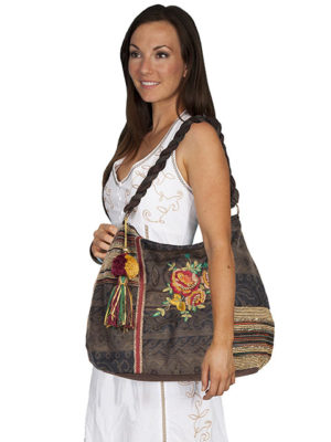 No. C15 Cantina Handbag 70% Polly, 20% Wool, Color: Brown