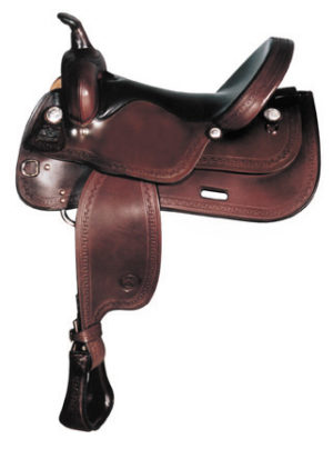 Big Horn A01672-16 & A01673-17TRAIL SADDLE Full QH Bars