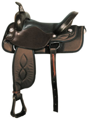 Big Horn A00299-17, & A00302-16Nylon Trail Saddle, Full QH