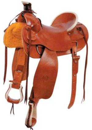 No 0-5004, No 04, No 0-7004Plain Prairie Comfort Saddle