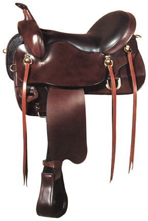 Big Horn A01660-16 & A01662-17TRAIL SADDLE FLEXIBLE TREE