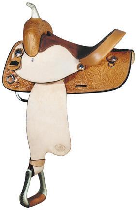 Big Horn A01435-14 & A01535-15BARREL RACERS SADDLE