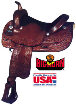 Big Horn A01680-16DRAFT HORSE SADDLE