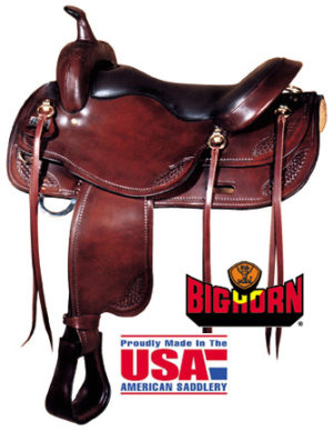 Big Horn A01683-17 1/2DRAFT HORSE SADDLE, 17 1/2""