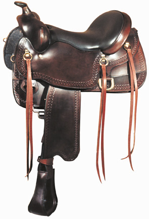 BigHorn A01544-16GAITED HORSE SADDLE,Dual Density Foam Seat