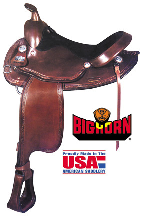 Big Horn A01579-15 1/2HAFLINGER TRAIL SADDLE