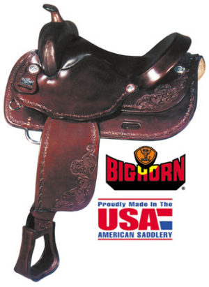 Big Horn A01681-16HAFLINGER TRAIL SADDLE