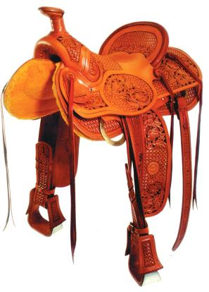 """No. 0-11The SVS Special Saddle, 15 1/2"""" seat, Or Specify"""