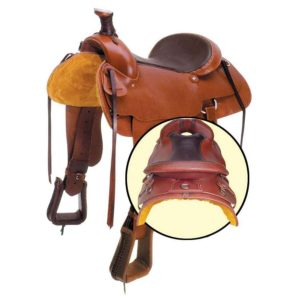 No. 0-5320, No. 0-320The Outfitter Saddle, 15,16 inch Seats