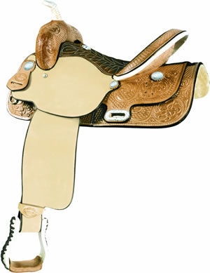 """No. 291276TIME BREAKER Saddle by Billy Cook, 14, 15 or 16"""""""