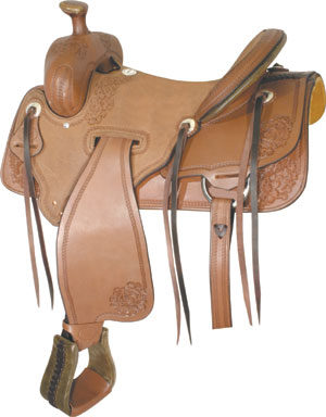 "No.291826PANHANDLE RANCHER by Billy Cook, 16"", 17"" Hard Seat"
