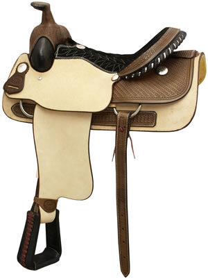 No. 291636NOCONA ROPER by Billy Cook Saddlery, 16 Inch Seat