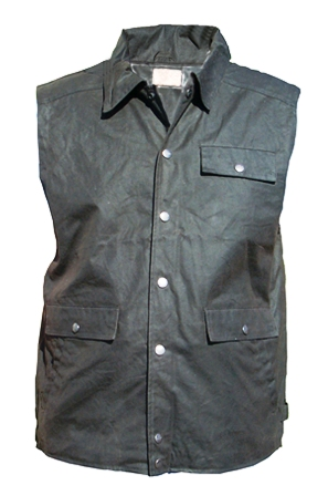 Item: CVHCOUNTRY VEST OILCLOTH
