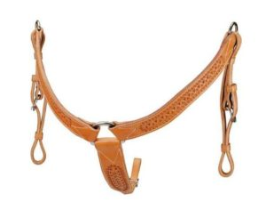 No. 7-32Border Tooled Breast Collar