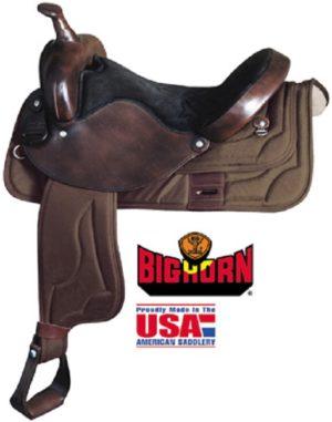 Big Horn No 274-15, 276-16, 278-17Cordura Nylon Saddle