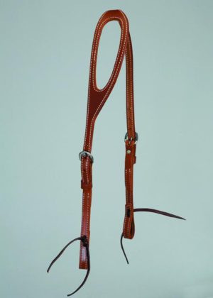 No. 5-157ONE EAR SKIRTING LEATHER HEADSTALL