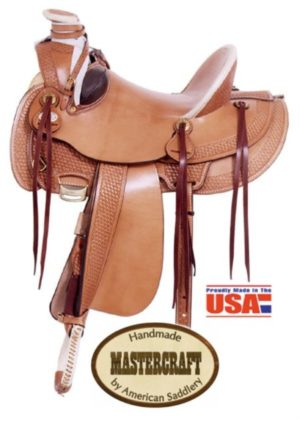 American No. 127The Deluxe Arizona Rancher Saddle, QH Bar
