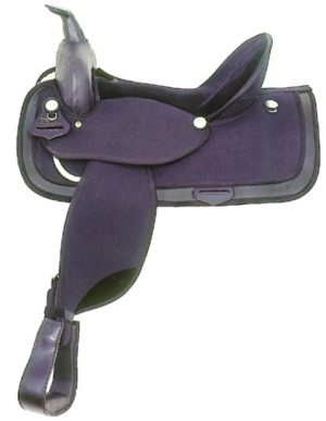 "American No.486Cordura Nylon Saddle. 16"" Seat"