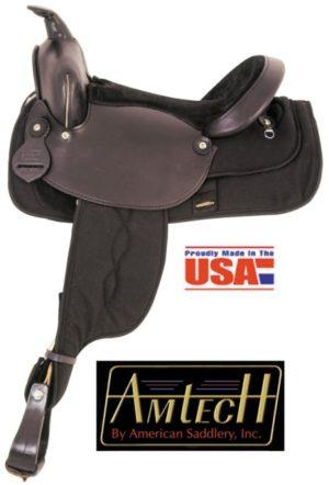 American No.365, 366, 367Cordura Nylon Trail Saddle. Full QH