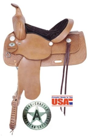 """American No. 1460 Trails for All Saddle, 13 - 17"""". QH Bars"""