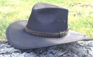 Item RAHRAINIER HAT, Oilcloth, Western Style